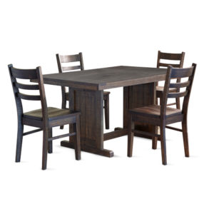 Homestead Table & 4 Chairs by Sunny Designs