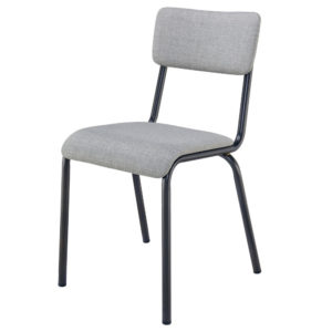 Lehman Fabric Chair (Penta Gray) by New Pacific Direct