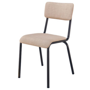 Lehman Fabric Chair (Penta Linen) by New Pacific Direct