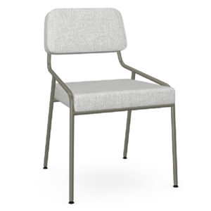 Bellamy Chair Upholstered Seat and Backrest by Amisco