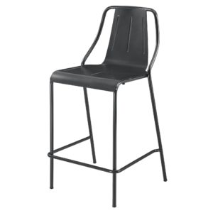 Callum Metal Stool by New Pacific Direct – Your Choice 26″ Counter or 30″ Bar