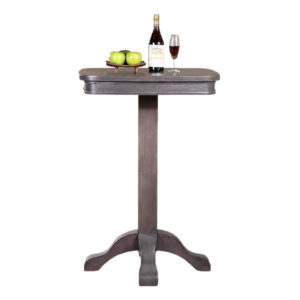 Charlie 28″ Square Pub Table (Gray)