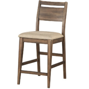Zoey Solid Hardwood 26″ Cushion Barstool by Winners Only