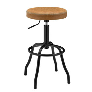 Eaton Adjustable Barstool (Vintage Cedar) by New Pacific Direct