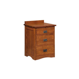 Bungalow 3 Drawer Nightstand by Amish Crafted by Noah Bontrager