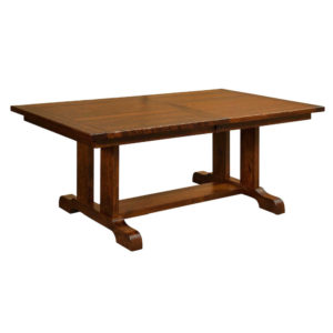 Burwick Trestle Table by Amish Crafted by Noah Bontrager