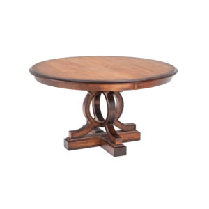 Elliot Single Pedestal Table by Amish Crafted by Noah Bontrager