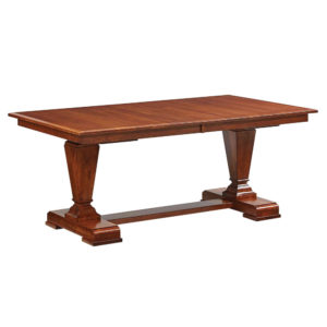 Fulton Trestle Table by Amish Crafted by Noah Bontrager