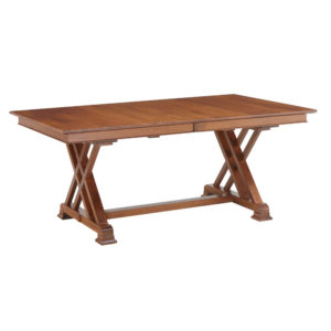 Heyerly Trestle Table by Amish Crafted by Noah Bontrager