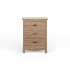 Platte River 3 Drawer Nightstand by Amish Crafted by Noah Bontrager
