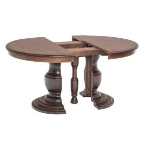Ziglar Split Pedestal Table by Amish Crafted by Noah Bontrager