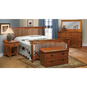 Bungalow Bedroom Collection by Amish Crafted by Noah Bontrager