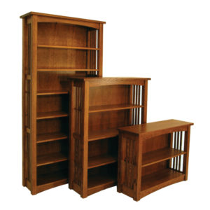 Bungalow Mission Bookcases by Amish Crafted by Noah Bontrager