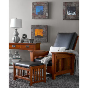 Bungalow Mission Morris Chair by Amish Crafted by Noah Bontrager