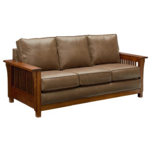 Bungalow Mission Sofa by Amish Crafted by Noah Bontrager