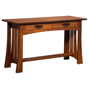 Highland Sofa Table with Drawers by Amish Crafted by Noah Bontrager