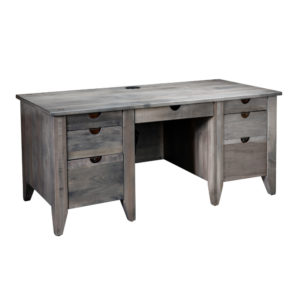 """Simplicity 66"""" Drawer Desk by Amish Crafted by Noah Bontrager"""
