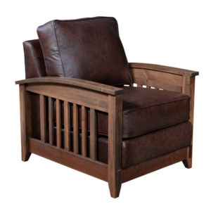 Simplicity Club Chair by Amish Crafted by Noah Bontrager