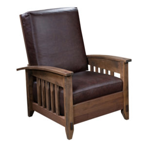Simplicity Morris Chair by Amish Crafted by Noah Bontrager
