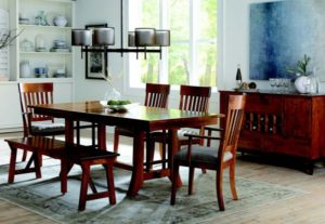 Simplicity Dining Collection by Amish Crafted by Noah Bontrager