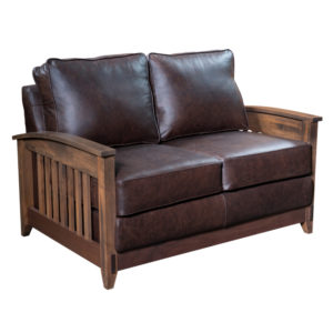 Simplicity Loveseat by Amish Crafted by Noah Bontrager