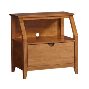 Simplicity Open Nightstand by Amish Crafted by Noah Bontrager