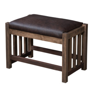 Simplicity Ottoman by Amish Crafted by Noah Bontrager