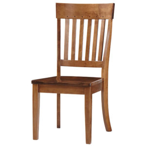 Simplicity Side Chair (with Inlays) by Amish Crafted by Noah Bontrager