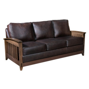 Simplicity Sofa by Amish Crafted by Noah Bontrager