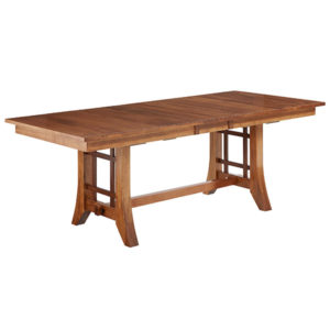 Simplicity Trestle Table by Amish Crafted by Noah Bontrager