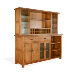 Sedona 2-Piece China Hutch and Buffet by Sunny Designs