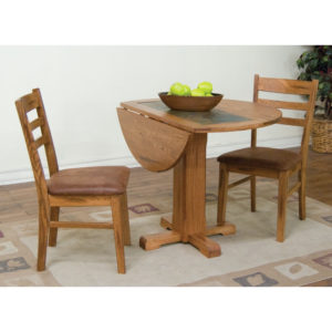 Sedona 3-Piece Drop Leaf Table Dining Set by Sunny Designs