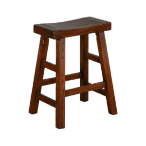 Tuscany Saddle Seat Barstool by Sunny Designs – Your Choice 24″ Counter or 30″ Bar